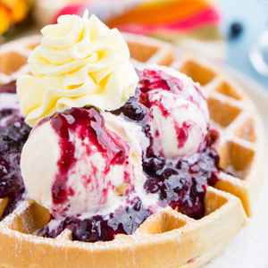 Belgiun waffles with mango blueberry compote_Main Display.jpg